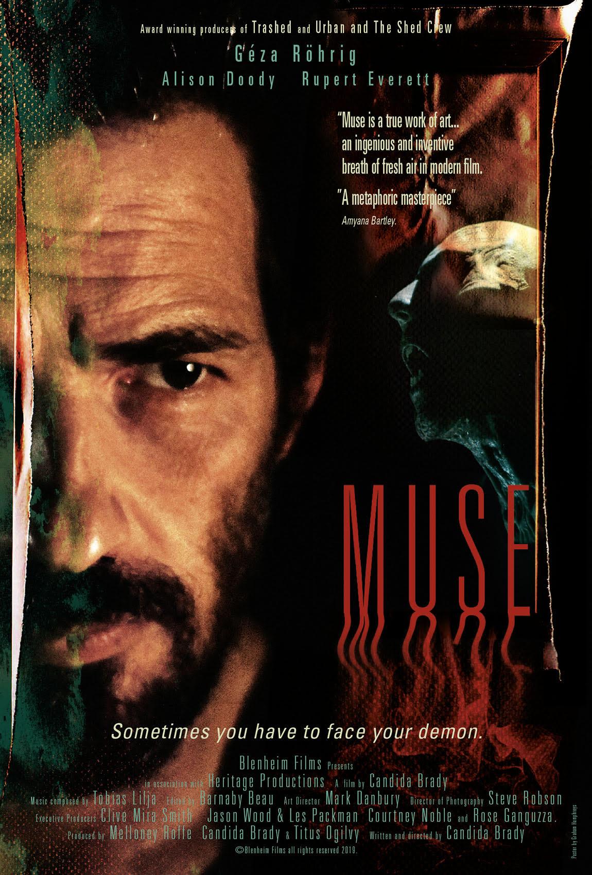 Muse film starring Géza Röhrig Poster