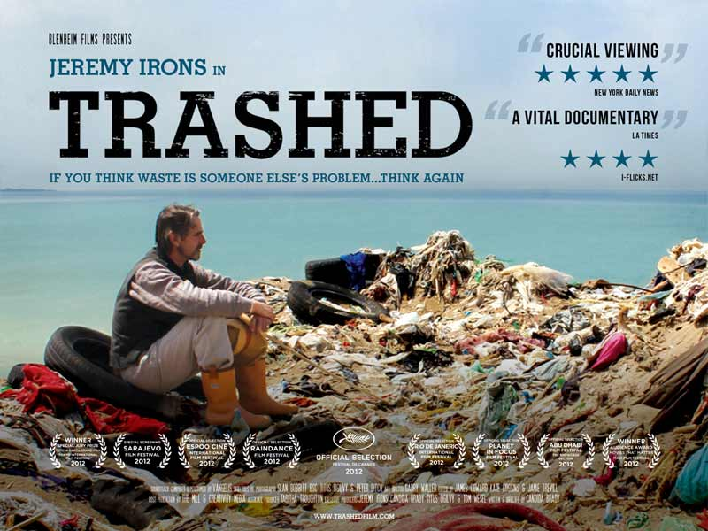 Trashed Movie with Jeremy Irons
