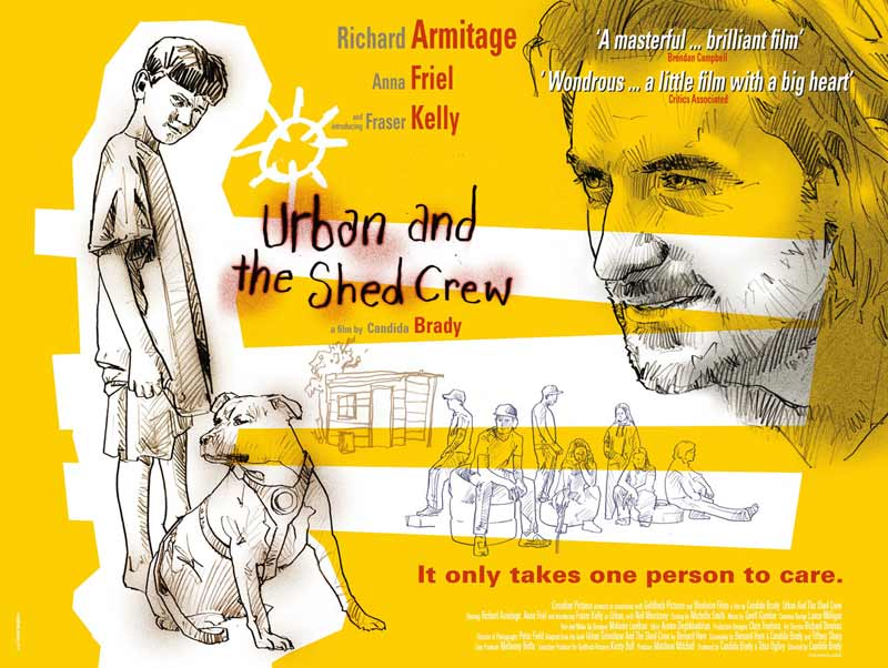 urban and the shed crew photograph of poster